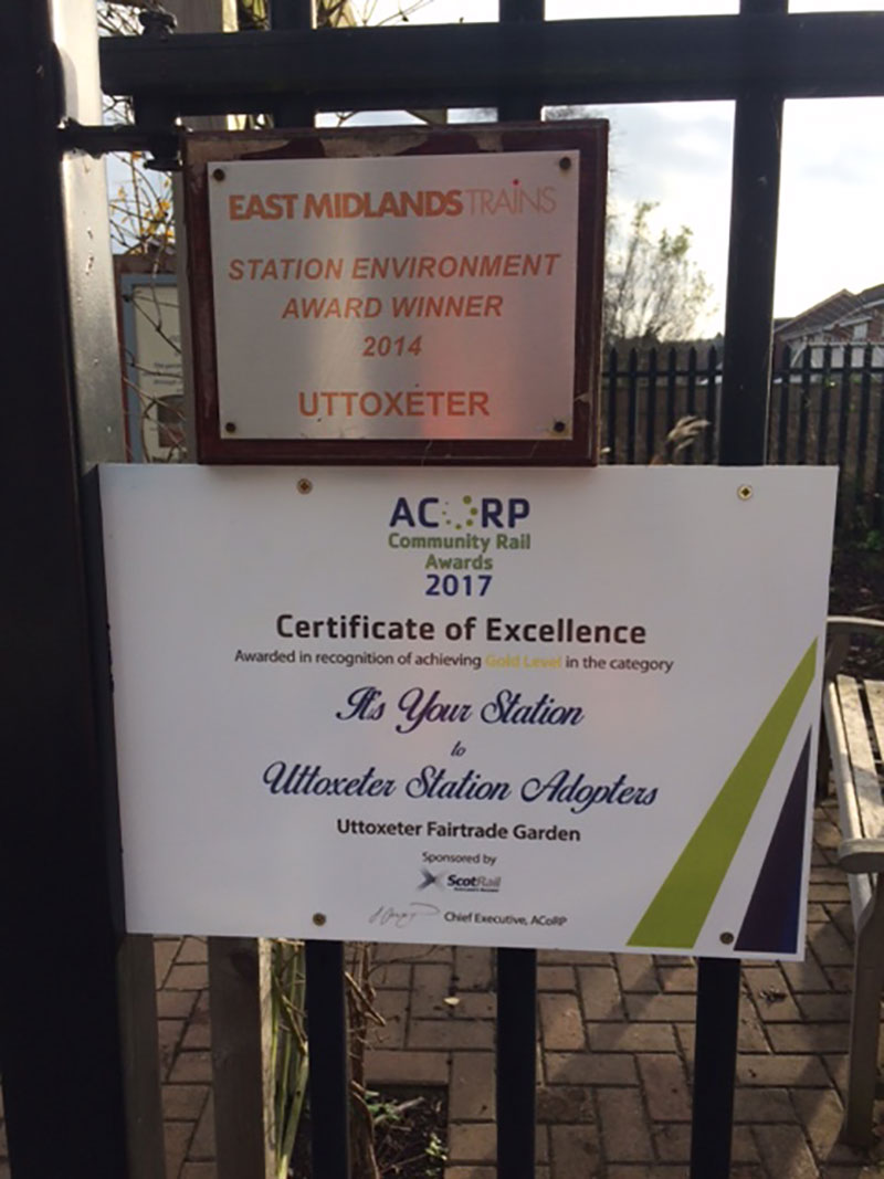 ACoRP Certificate Uttoxeter