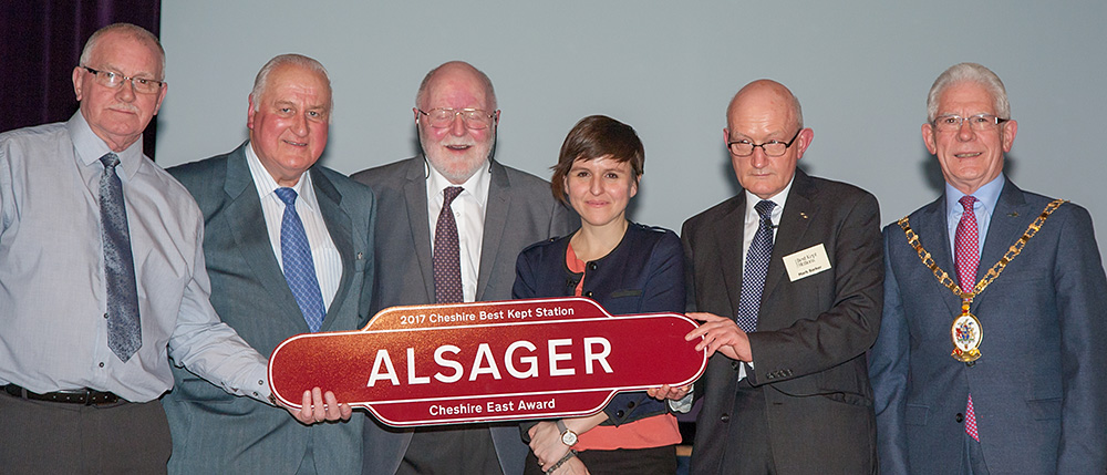 Alsager - Best Kept Station 2017