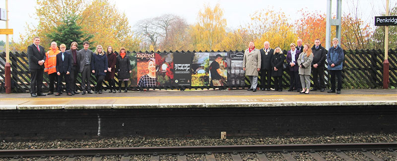 People and Places of Penkridge celebrating a sustainable community rail project