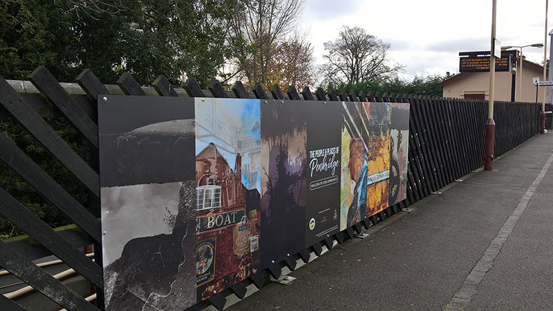 People and Places of Penkridge murals