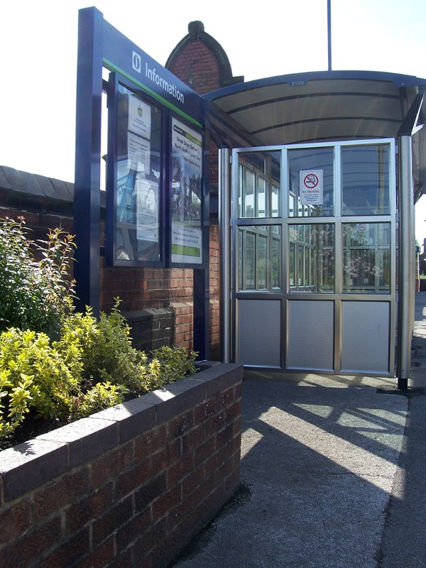Improved facilities at Longport station