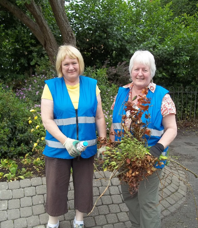 Uttoxeter volunteers Janet and Maureen