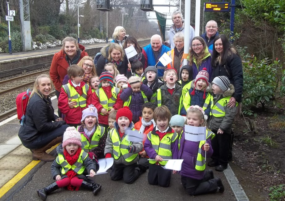 A community day with Betley Primary School