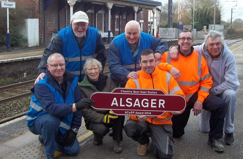 Alsager Cheshire Best Stations winners 2015