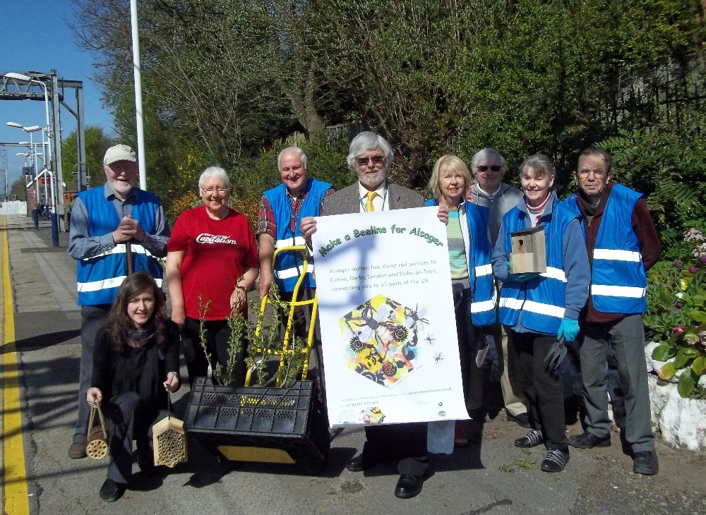 Launching a Bee Friendly project at Alsager
